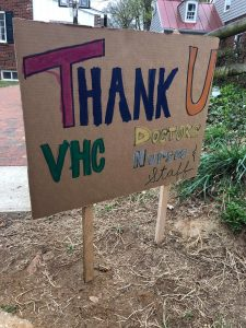 Thank you VHC doctors & nurses & staff
